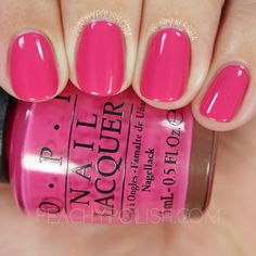OPI Mad For Madness Sake   Alice Through The Looking Glass Collection   Peachy Polish