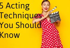 Here are 5 acting techniques you should know. You may not realize it, but there are several different techniques when it comes to acting. Acting Lessons, Acting Class, Singing Lessons, Acting Tips, Acting Skills, Singing Tips, Acting Career, Drama Class, Audition Monologues