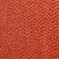 ANICHINI Fabrics | Nobel Linen Herringbone Blood Residential Fabric - a red herringbone linen fabric
