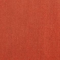 ANICHINI Fabrics | Nobel Linen Herringbone Blood Residential Fabric - a red herringbone linen fabric