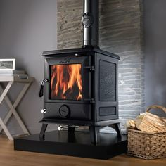 AGA cast iron stoves - heat your home effectively & be environmentally friendly. View our range of AGA multi fuel stoves & wood burning stoves online today. Log Burning Stoves, Wood Burning, Hygge, Flame Picture, Aga Stove, Wood Fuel, Multi Fuel Stove, Cast Iron Stove, Range Cooker