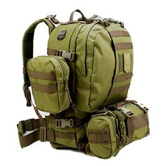 Paratus 3 Day Operator's Pack Military Style MOLLE Compatible Tactical Backpack Bug Out Bag