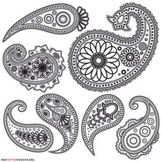 Henna tattoo designs are known for the first time in Indian. Henna has been used in various nations since then. Indian Patterns, Henna Patterns, Zentangle Patterns, Zentangles, Damask Patterns, Quilling Patterns, Art Patterns, Mehndi Designs, Henna Tattoo Designs