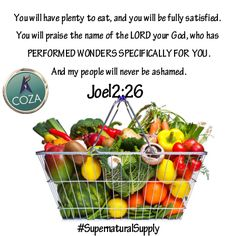 In the name of Jesus, you will not lack. You will have plenty and you will be fully satisfied. God will beautify your life. You will never be ashamed; God will perform wonders specifically for you. The hand of the Lord rests mightily upon your endeavors, your results will be amazing. #SupernaturalSupply
