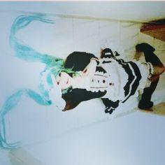 My Miku Hatsune maid cosplay