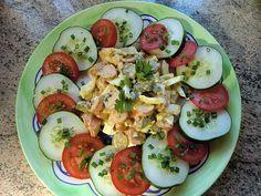 krümeltigers Wurst-Eiersalat, ein tolles Rezept aus der Kategorie Snacks und kleine Gerichte. Bewertungen: 7. Durchschnitt: Ø 4,0.