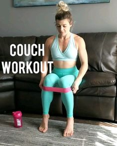 Workout Great Little Mini Workout using stretch bands. You could do this workout while watching TV!Great Little Mini Workout using stretch bands. You could do this workout while watching TV! Couch Workout, Ab Workout At Home, Butt Workout, At Home Workouts, Dumbbell Workout, Step Aerobic Workout, Workout Circuit, Home Workout Videos, Fitness Workouts