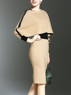 Buy Two Way Color Block Bodycon Dress online with cheap prices and discover fashion Bodycon Dresses at Fashionmia.com.