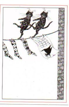 Edward Gorey Practical Cats (Old Possum's Book of Practical Cats by T.S. Eliot) 1982