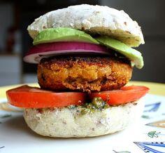 Gulrotburger