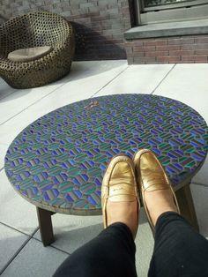 Outdoor furniture installation in Brooklyn!