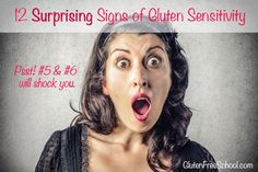 Symptoms and signs of gluten sensitivity are critical to know because the issue is more than just tummy problems. Here's 12 surprising signs you might be...