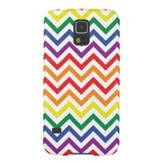 Chevron Rainbow Galaxy S5 Cover