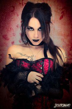Gothic Model Corset Emily Strange