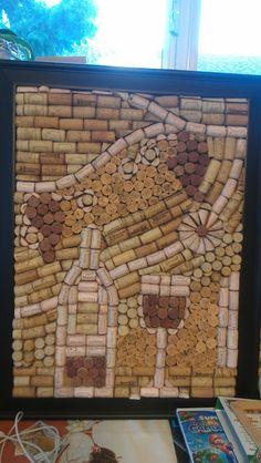 rainysunraynails: How-to Cork Board. (unrelated nail art) #corkboard #winecorks #wine #corks
