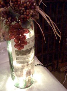 Christmas Lights for Wine Bottles & Glass Block Projects   Craft Lights