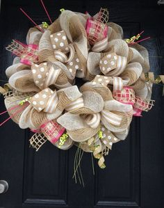 22-Awesomely-Shabby-Chic-Christmas-Wreath-That-Can-Be-Used-All-Year-Round-14