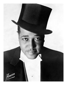 """Duke Ellington 1940's:  Called his music """"American Music"""" rather than jazz, & liked to describe those who impressed him as """"beyond category."""" These included many of the musicians who were members of his orchestra, some of whom are considered among the best in jazz in their own right, but it was Ellington who melded them into one of the most well-known jazz orchestral units in the history of jazz."""
