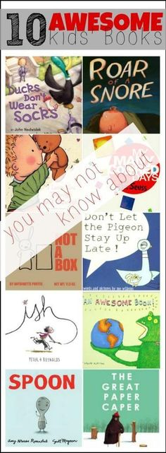 10 Awesome Kids Books (you might not know about)