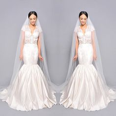 Why is Tammy from our 2016 collection one of our faves? Because of its modern use of lace that still allows for traditional elements on a sexy silhouette. It's a little bit of everything. Missing the sparkle and glamour? Wait till you try it on, the glamour is in the feeling.  #pantorabride #wedding #weddingdress #bride #bridal #laceweddingdress #mermaidweddingdress # ny bride