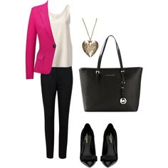 """""""to work"""" by lizmau on Polyvore"""