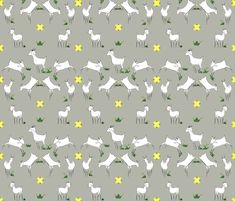 goats1 fabric by mc-m on Spoonflower - custom fabric