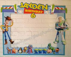 Toy Story Frame / Photo Booth / Photo Prop by GiantFunFrames