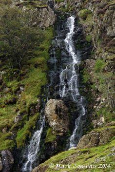 Lakeland Falls - Lake District, Cumbria, Waterfall, Nature, Photography, Landscapes. Mark Conway, Life Spirit