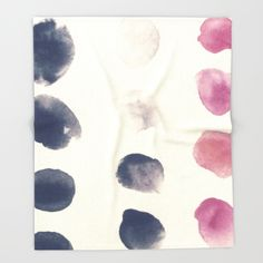 Color Test I Throw Blanket by swavstudio Color Test, Bedtime, Blanket, Abstract, Artwork, Summary, Work Of Art, Auguste Rodin Artwork, Artworks