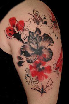 Google Image Result for http://www.buenavistatattooclub.de/pics/realistic_trash_polka/70_tattoo_hibiskus.jpg