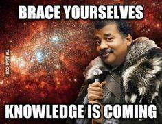 On Neil deGrasse Tyson Hosting Cosmos.