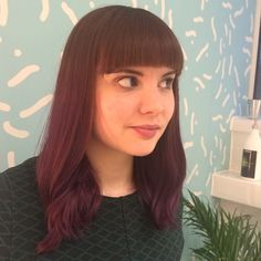 Purple ombre!