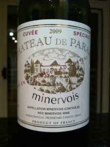 My favourite red wine... Minervois..