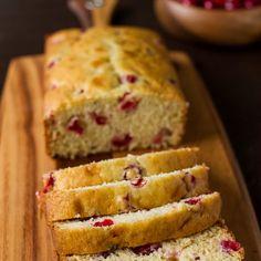 Fresh Cranberry Tea Cake Recipe Desserts, Afternoon Tea with flour, baking soda, salt, unsalted butter, sugar, vanilla, eggs, buttermilk, fresh cranberries