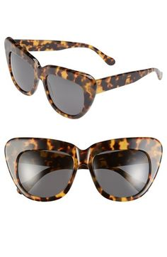 Illesteva 'Brigitte' 55mm Retro Sunglasses available at #Nordstrom