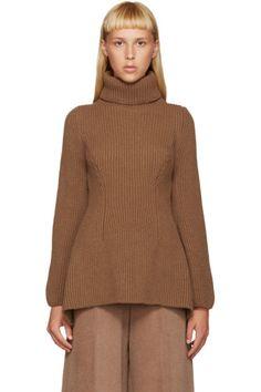 Nehera - Tan Merino Wool Turtleneck