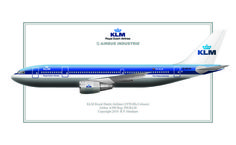 KLM - Royal Dutch Airlines Airbus A300-600