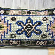 Декоративная вышитая подушка Ивана Купала