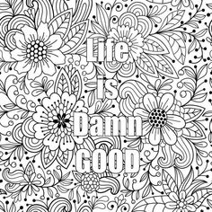 Deep breathing coloring pages ~ Coloring Pages Digital Download 3 Colouring by ...