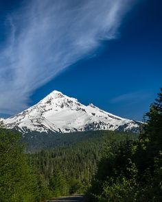 Mount Hood from Lolo Pass Crest. Fine Art Oregon Photography Print for Home Decor Wall Art. Mount Hood from Lolo Pass in the Mt Hood National Forest.~~ SELECT DESIRED SIZE USING THE OPTIONS BUTTON ABOVE ADD TO CART. Available in: 5x7, 8x10, 11x14, 12x18, 16x20, 20x30, 24x36 prints.