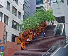 The Cascade | Public Stairway | Edge Design Institute, Hong Kong | Design With Cities, Not For Them