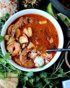 Buttery Brazilian Fish Stew [Moqueca] - The Wooden Skillet Healthy Soup Recipes, Veggie Recipes, Fish Recipes, Seafood Recipes, New Recipes, Vegetarian Recipes, Favorite Recipes, Brazilian Fish Stew, Brazilian Dishes