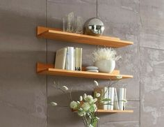 Floating Wall Shelves LP Designs