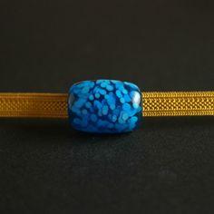 帯留め 点重ね ブルー1