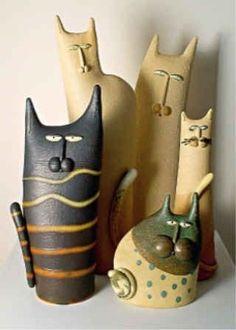 Кошки в интерьере (6)