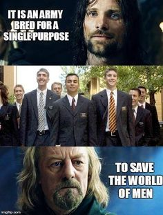 13 Mormon memes from the movie Lord of the Rings