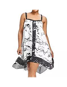Nouveau Femmes Off épaule Baggy Midi robe femme oversize 2 poche Parachute Robe