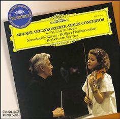 MOZART Violinkonzerte - Mutter/Karajan - Deutsche Grammophon