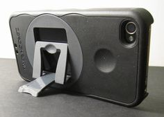 iPhone case with stand.