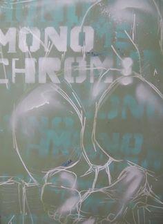Monochrome  #art #peinture #yaya2025 #graffiti #paint #nude